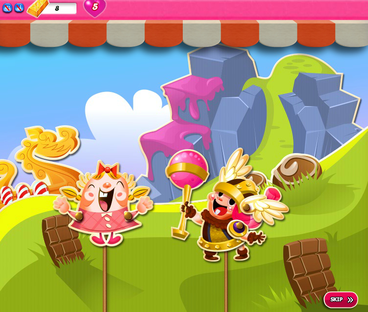 Candy Crush Saga 1656-1670