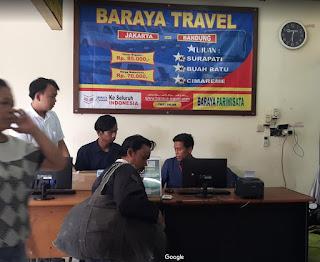 Jadwal Baraya Travel Sarinah