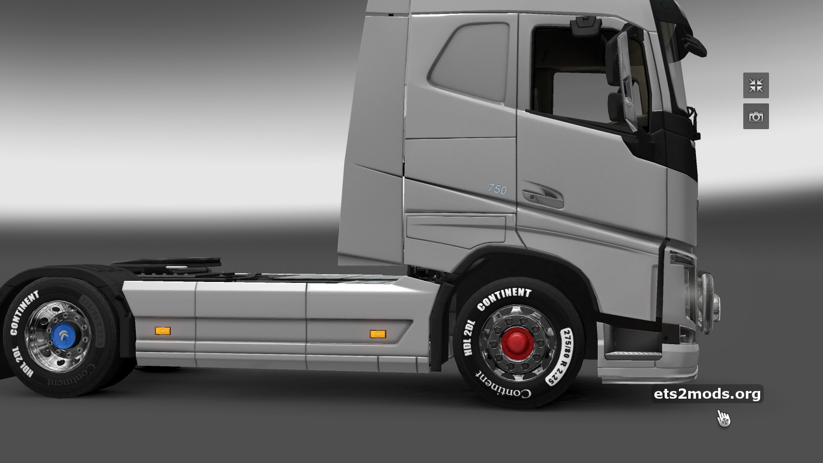 ETS2 Majestic RED front wheel