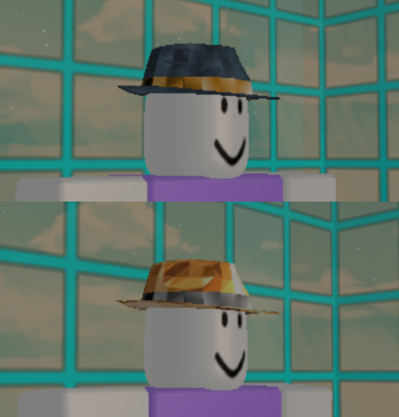 Roblox News Black Friday Hat Review Bluesteel Fedora