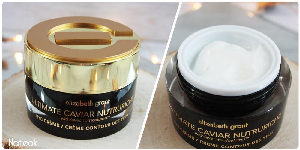 Contour des yeux Ultimate Caviar Nutruriche d'Elizabeth Grant