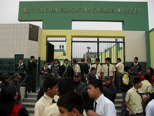 Resultado de imagen para institución educativa CARLOS WIESSE