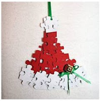 Puzzle pieces ornaments 1