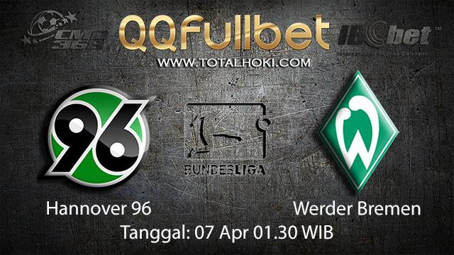 BOLA88 - PREDIKSI TARUHAN BOLA HANNOVER VS WERDER BREMEN 7 APRIL 2018 ( GERMAN BUNDESLIGA )