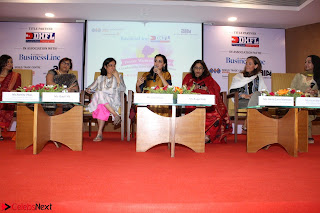 Dia Mirza Attends Power Women Seminar To Celete Womens Day 015.JPG