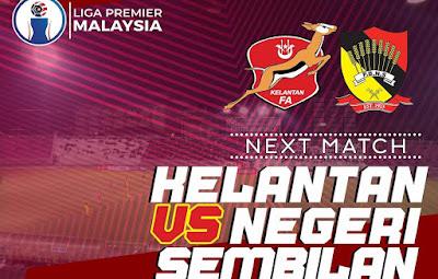 Live Streaming Kelantan vs Negeri Sembilan Liga Premier 20.4.2019