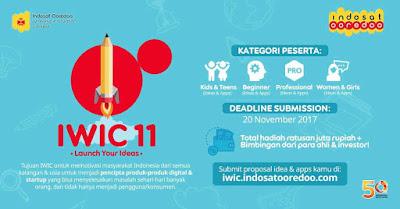 IWIC Indosat Lomba membuat ide aplikasi dan Hackaton