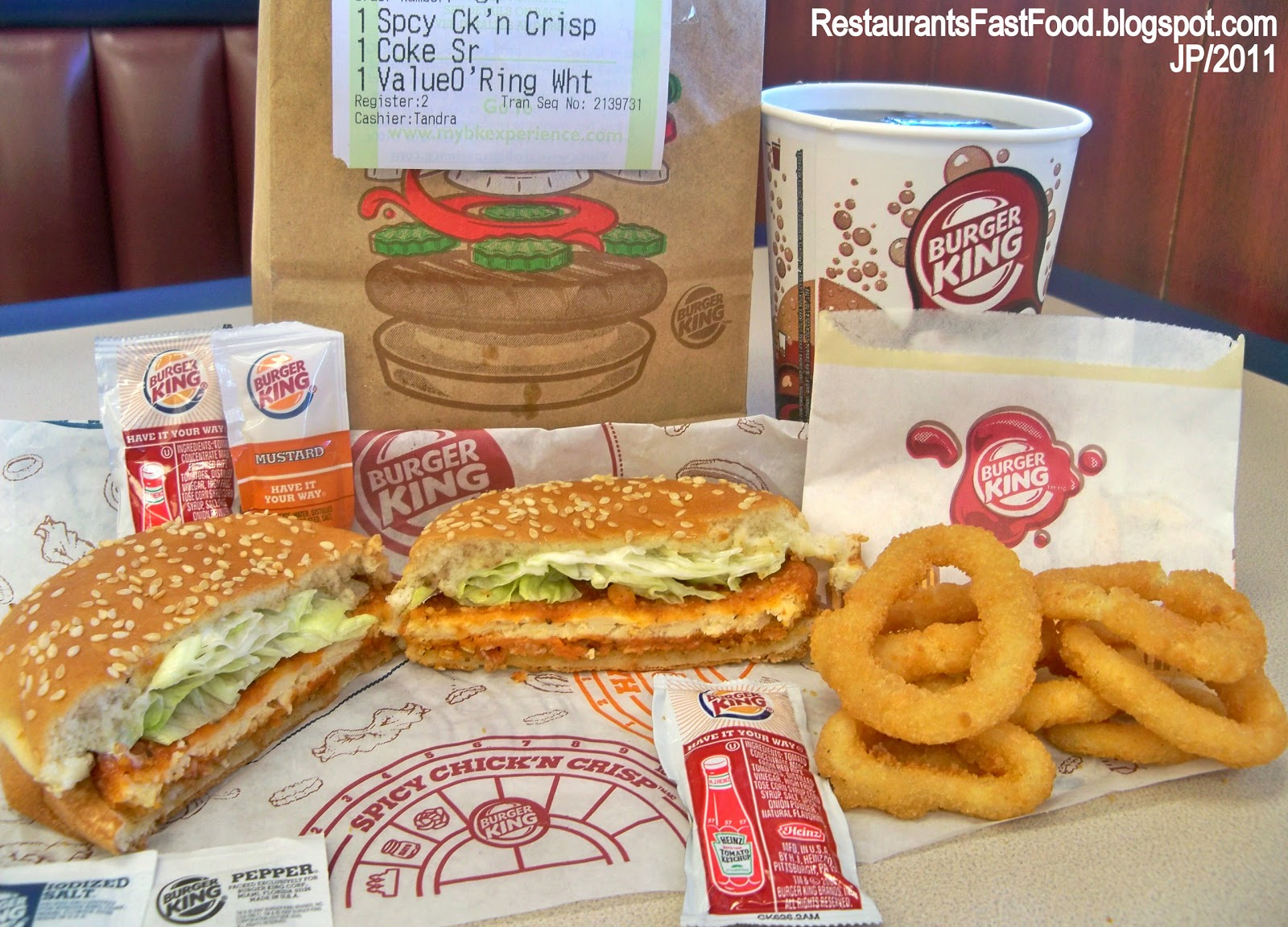 Fast Food Restaurants With Onion Rings