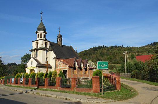 Hucisko. Kościół pw. Niepokalanego Serca NMP.