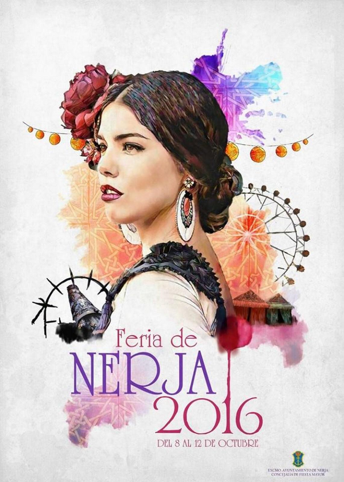 beb77a640d FERIA DE NERJA 2016 - Flamencura - Juan Francisco Castro Fernández -  Modelo  Gabriela Merino
