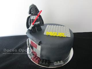 Bolo de aniversário Lego Star Wars