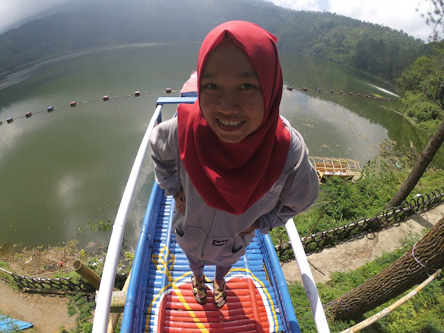 Indah Telaga Menjer | Menjer Lake | Beautiful Menjer Lake | Telaga Menjer |Dieng