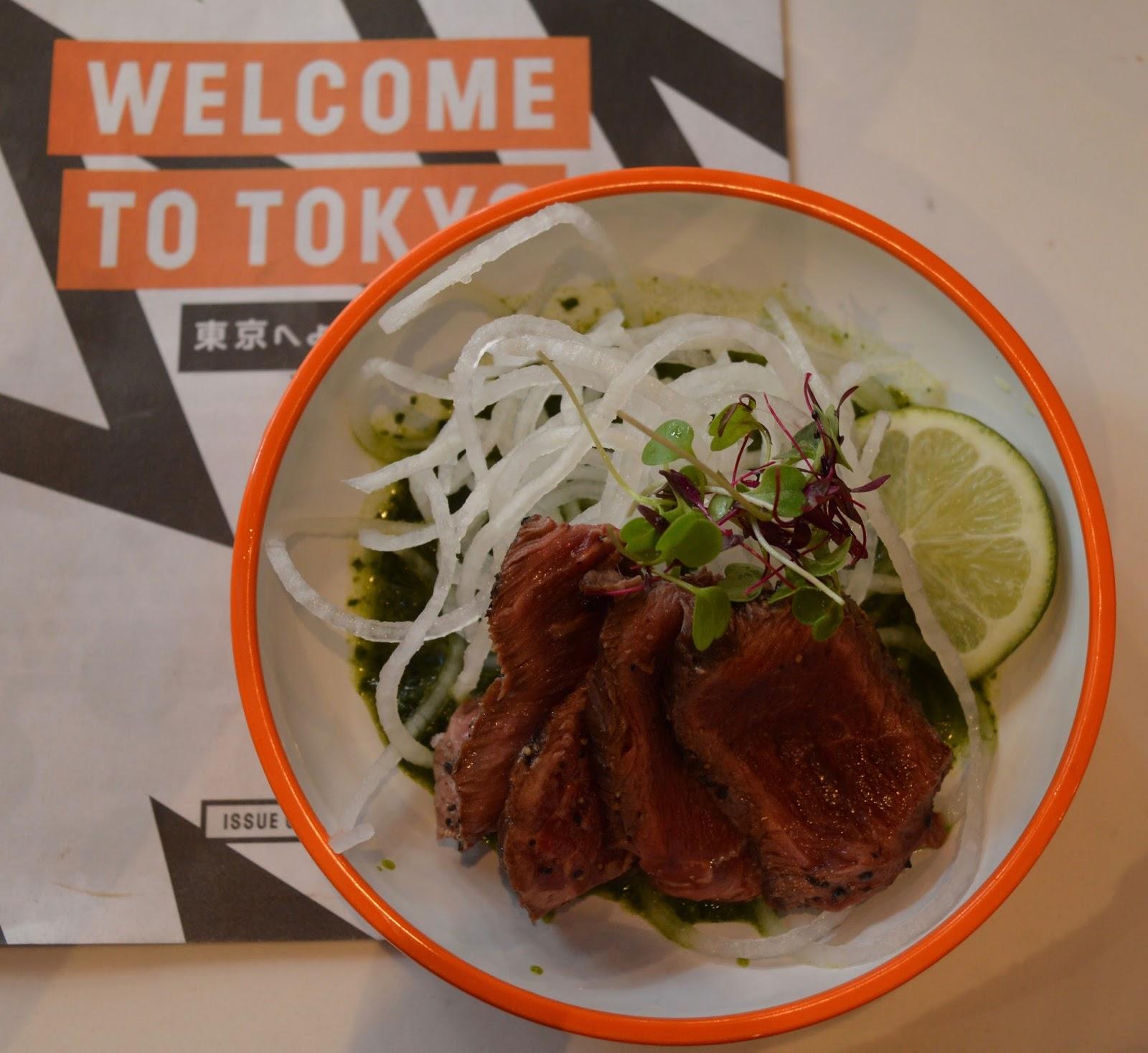 YO! Sushi Newcastle Grainger Street - Kids Menu Review - beef