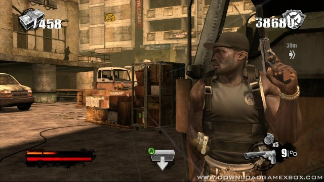 50 cent blood on the sand jtag trainer