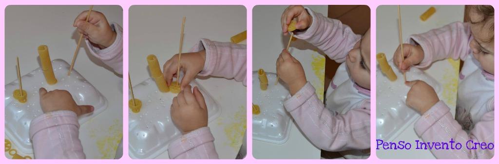 Amato 3 Giochi da fare in casa per bambini da 0 a 2 anni - Penso Invento  MN68