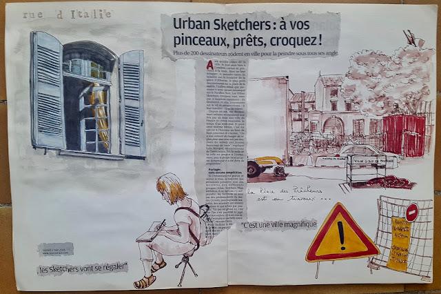 urban sektchers aix en provence 2018