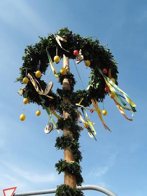 Osterbaum, Árvore de Páscoa, em Pomerode