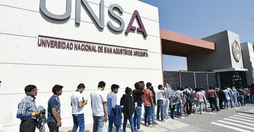 Diez jóvenes de escasos recursos serán becados por la UNSA - Arequipa