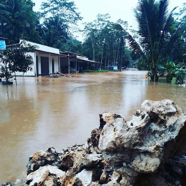Banjir di Kalibangkang Telah Surut