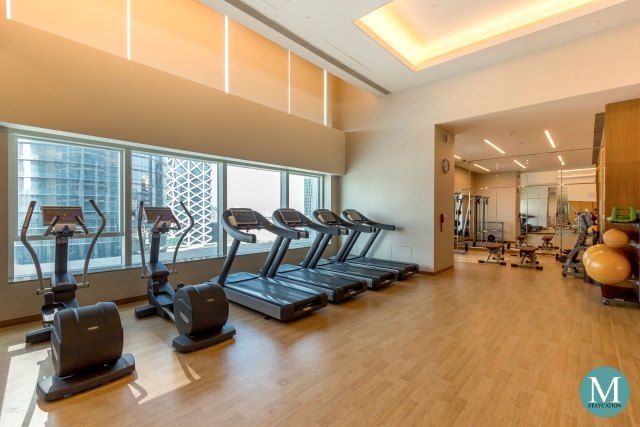 fitness center at The St. Regis Macao, Cotai Central