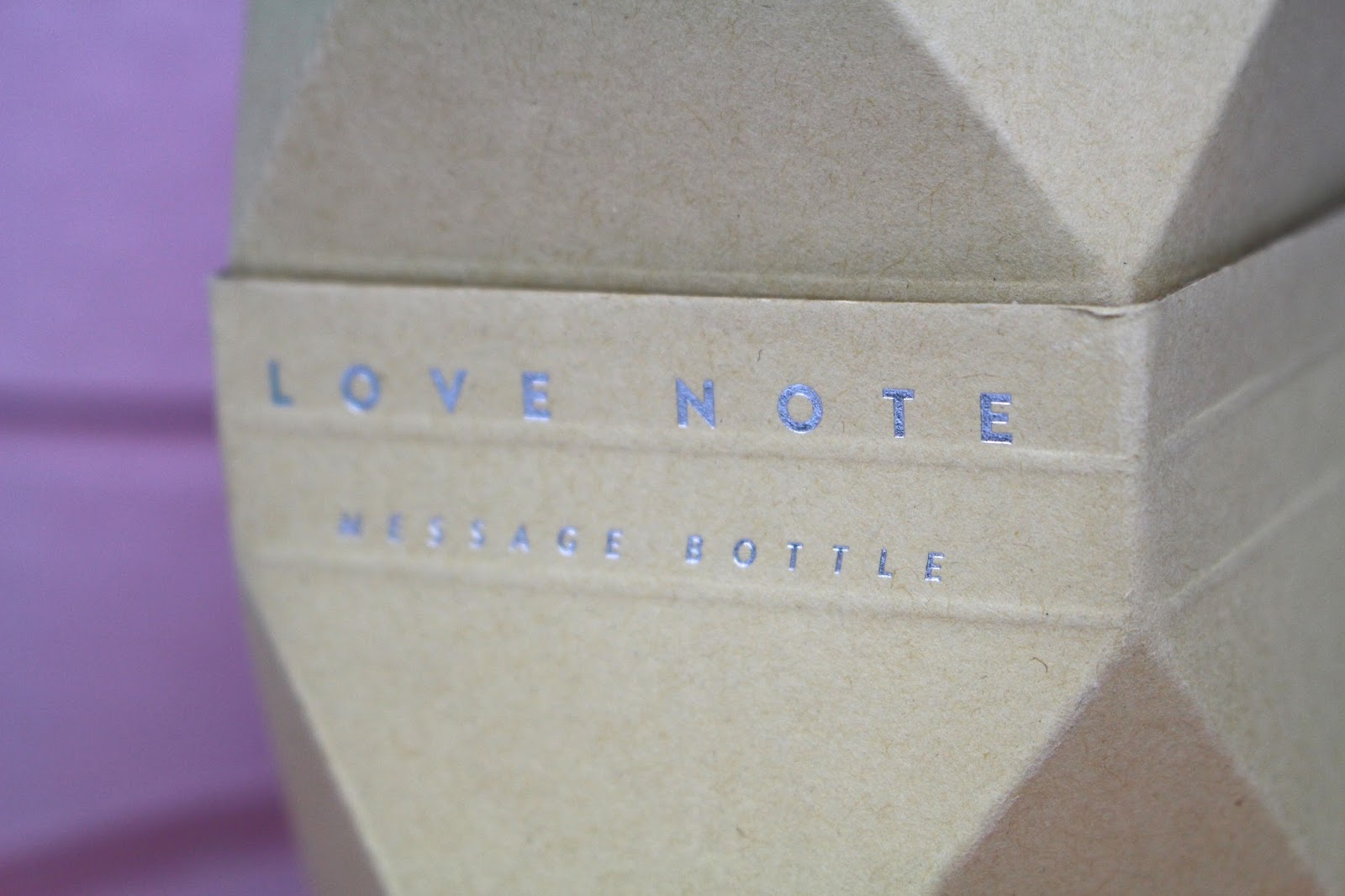 Luckies love note gift review
