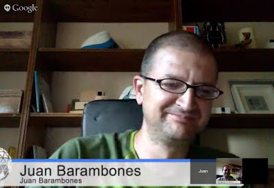 Hangout on Air sobre Project Tango junto al @GDGCaceres y el @GDGTenerife @Project_Tango