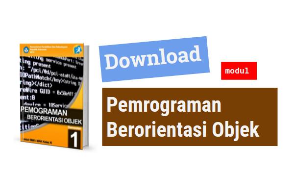 Download modul pemrograman berorientasi objek