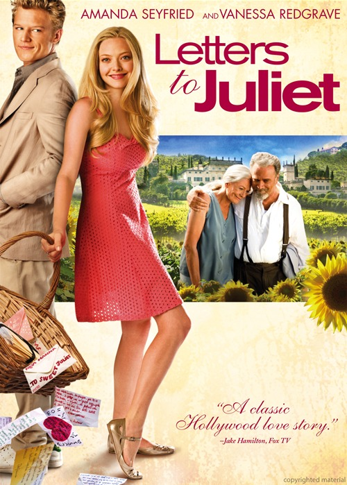 visionary writings: Letters to Juliet – A heart warming movie