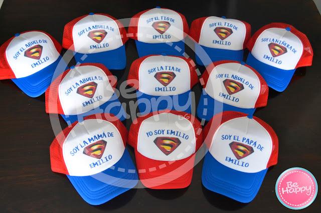 Gorras Personalizadas Logo Superman y Mujer Maravilla 967c731aa38