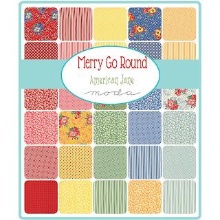 Moda Merry Go Round Fabric by American Jane for Moda Fabrics