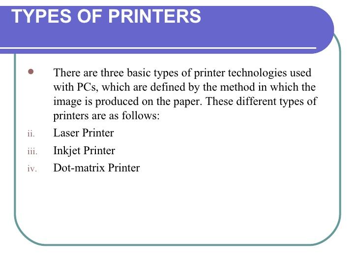 How inkjet printers work explain that stuff.