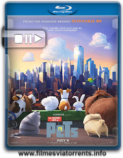 Pets: A Vida Secreta dos Bichos Torrent - BluRay Rip 720p | 1080p Legendado (2016)