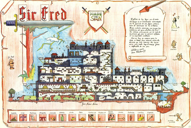 Mapa Sir Fred
