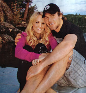 Carrie Underwood And Mike Fisher Nice
