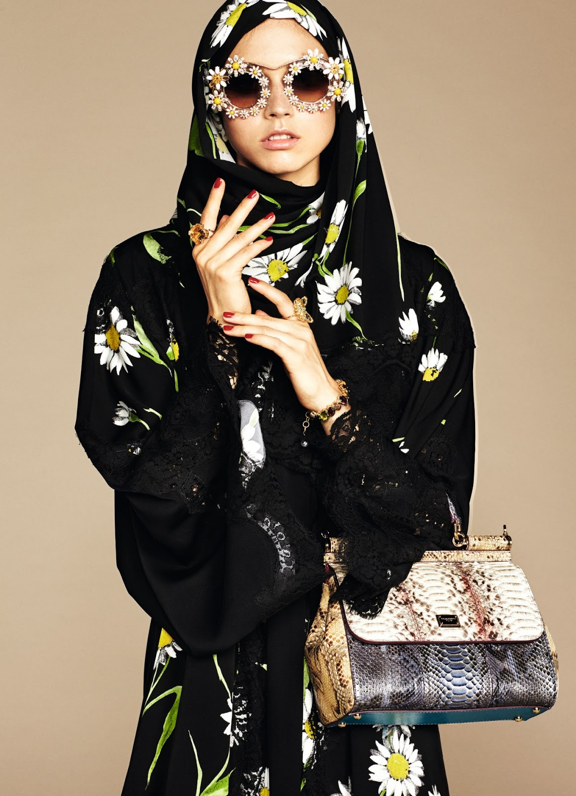 Yves Saint Laurent hates Islamic fashion