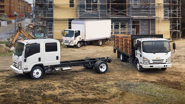 Chevrolet Expands Truck Portfolio with Low Cab Forward Trucks