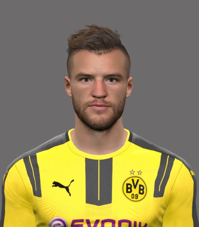PES 2017 Andriy Yarmolenko (Borussia Dortmund) Face by EmreT