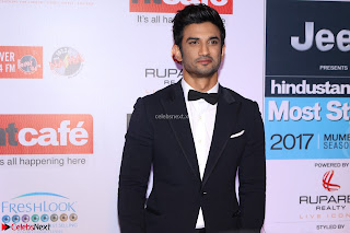 Red Carpet of Most Stylish Awards 2017 ~ Sushant Singh Rajput  (1).JPG