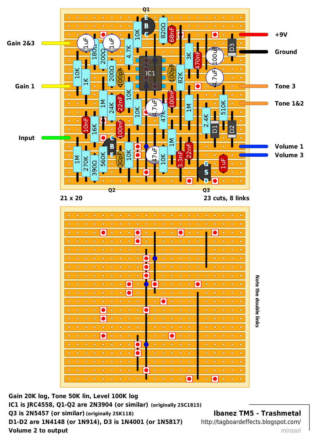 Graphic Equalizer Circuit Bjt 10 Band 5 Diagram Download
