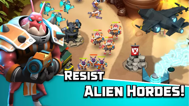 Download Alien Creeps TD Mod Apk v2.1.0 Latest Version For Android