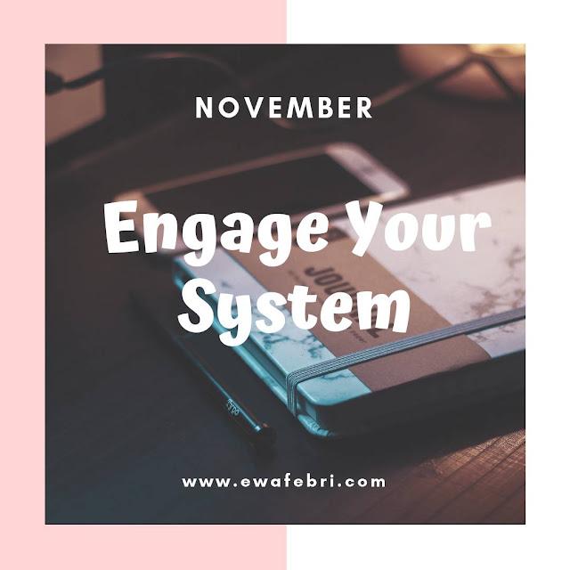 12 Months Bujo challenge November by ewafebri