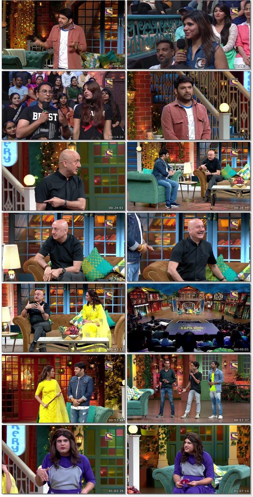 The Kapil Sharma Show 16th June 2019 Hindi 300MB HDTV 480p x264