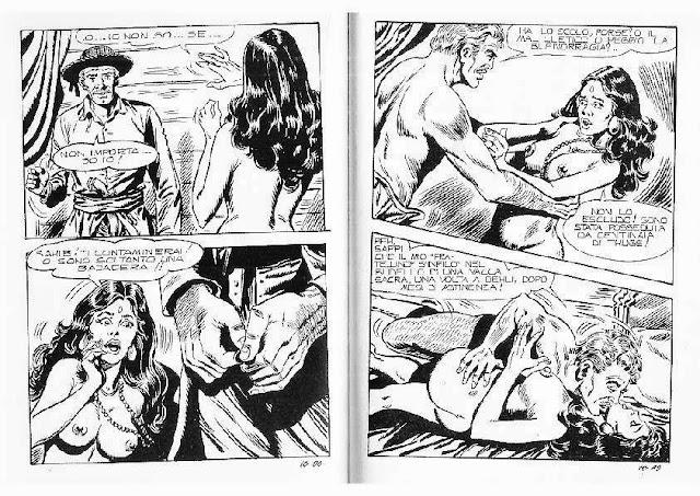 Famoso fumetti porno