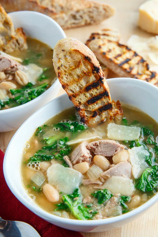 Clover Leaf Tuna, White Bean and Kale Soup