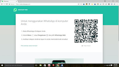 Cara Login di WhatsApp Web