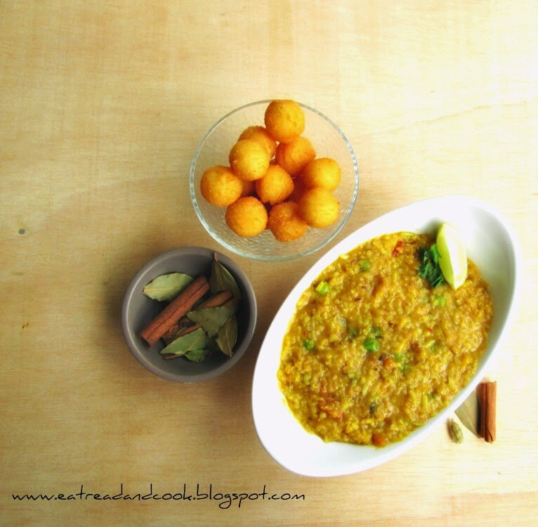 how to cook bengali style khichdi