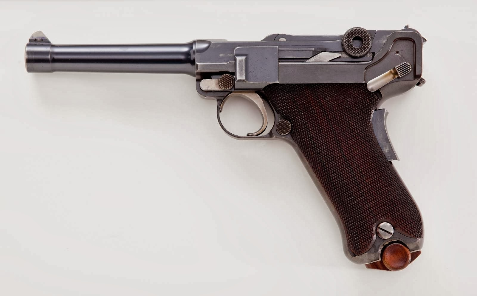 Luger 1907 Army Trials 45