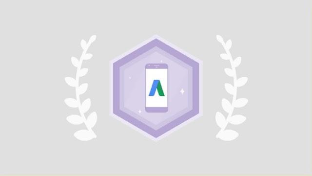 Pass in Google Mobile Advertising assessment