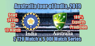 IND vs AUS 2nd T20 27.2.2019 Today Match Prediction Tips by Experts