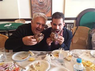 Ο Πασχάλης Τερζής και ο Βαγγέλης Αυγουλάς τρώνε κεφαλάκια